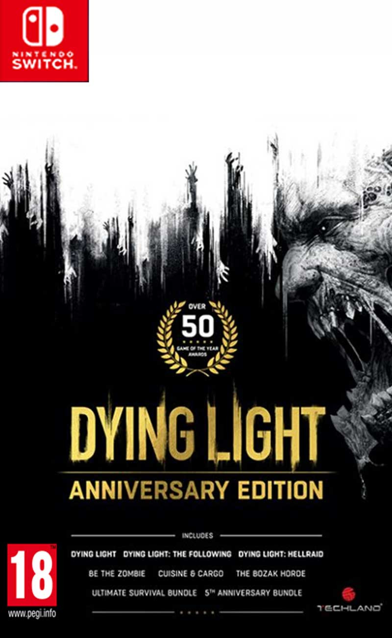 SWITCH Dying Light - Anniversary Edition