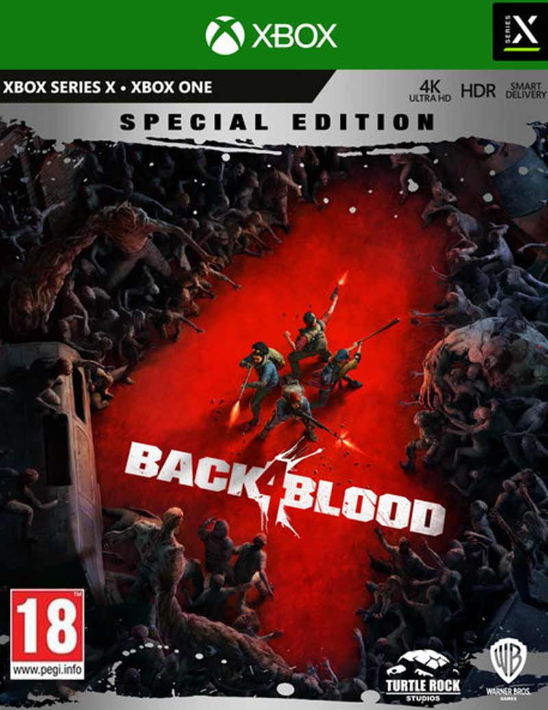 XBOX ONE Back 4 Blood Steelbook Special Edition - Day One Edition