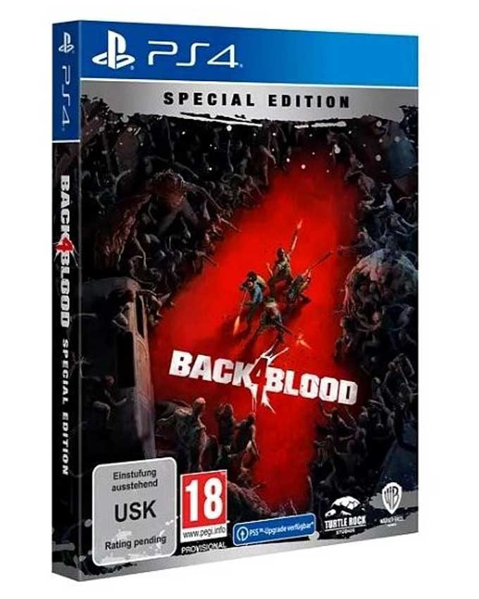 PS4 Back 4 Blood Steelbook Special Edition - Day One Edition