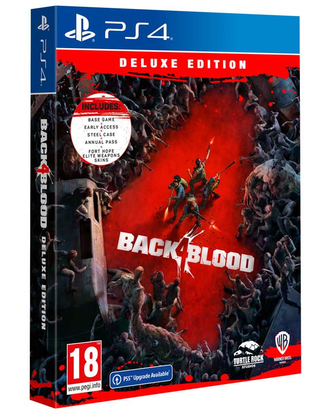 PS4 Back 4 Blood - Deluxe Edition
