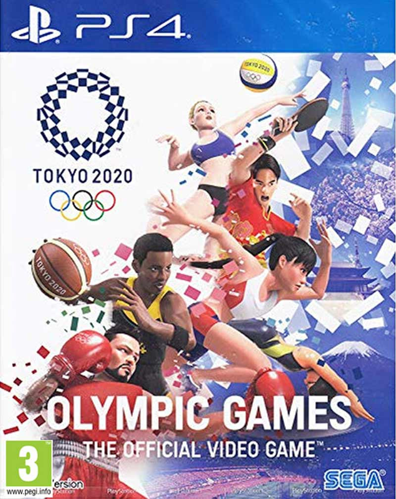 PS4 Olympic Games Tokyo 2020 - The Official Video Game