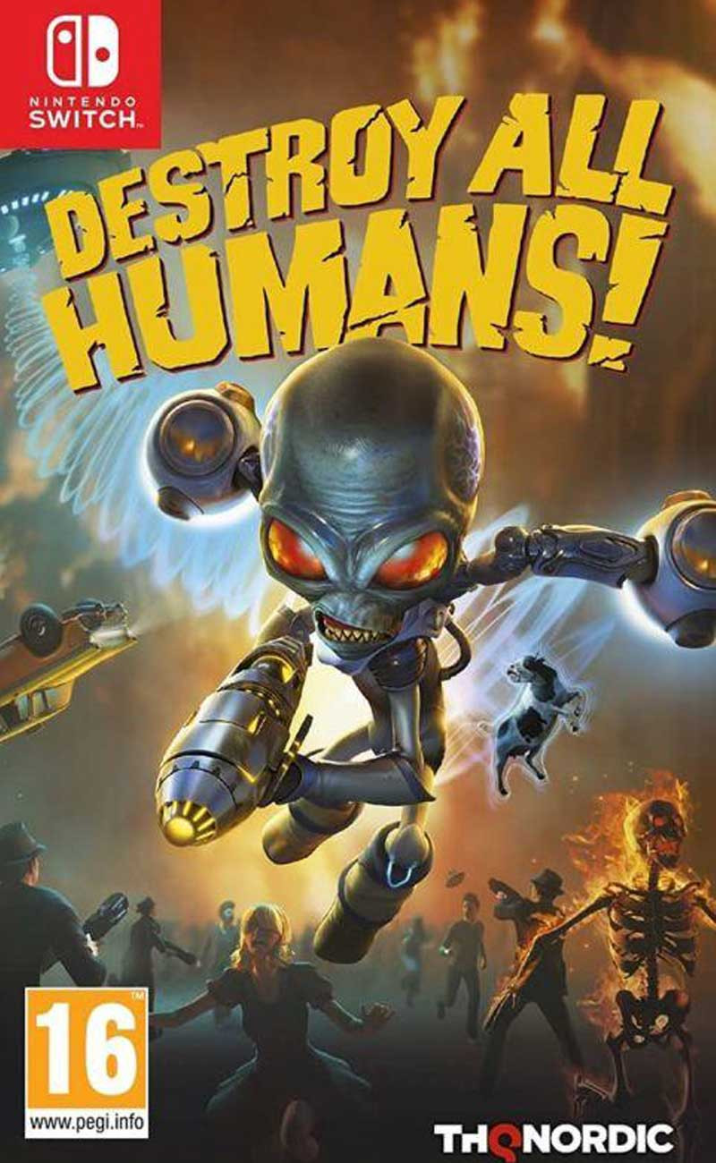 SWITCH Destroy All Humans