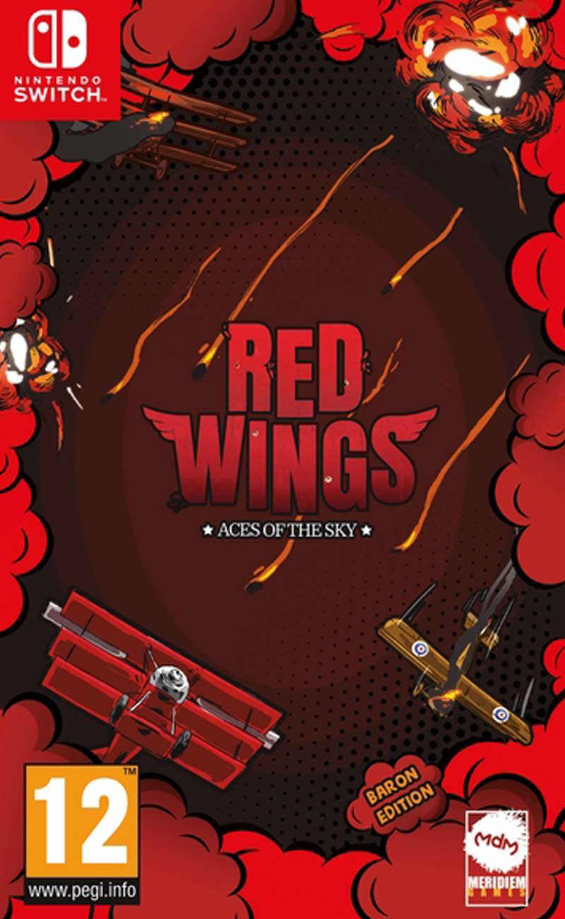 SWITCH Red Wings - Aces of the Sky - Baron Edition