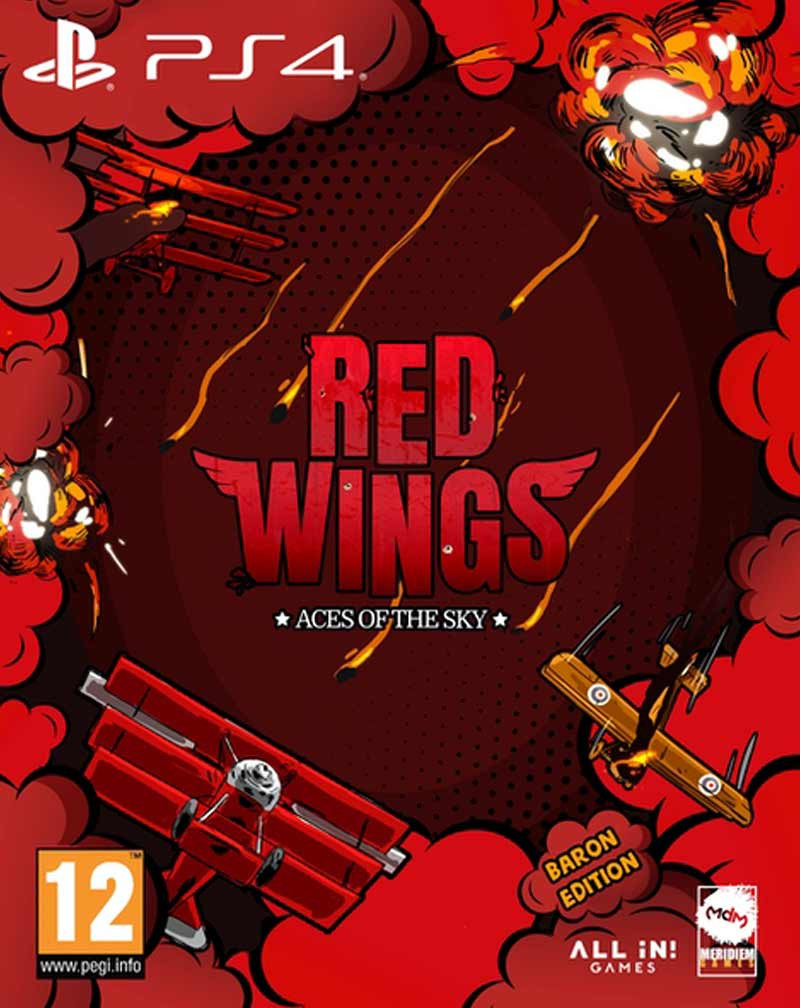 PS4 Red Wings - Aces of the Sky - Baron Edition
