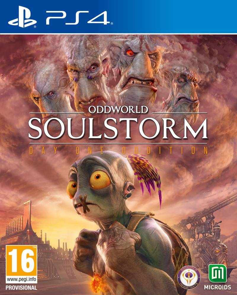 PS4 Oddworld Soulstorm - Day One Edition