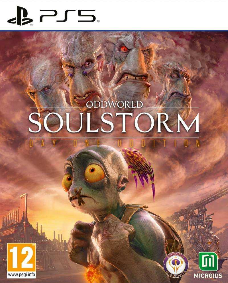 PS5 Oddworld Soulstorm - Day One Edition