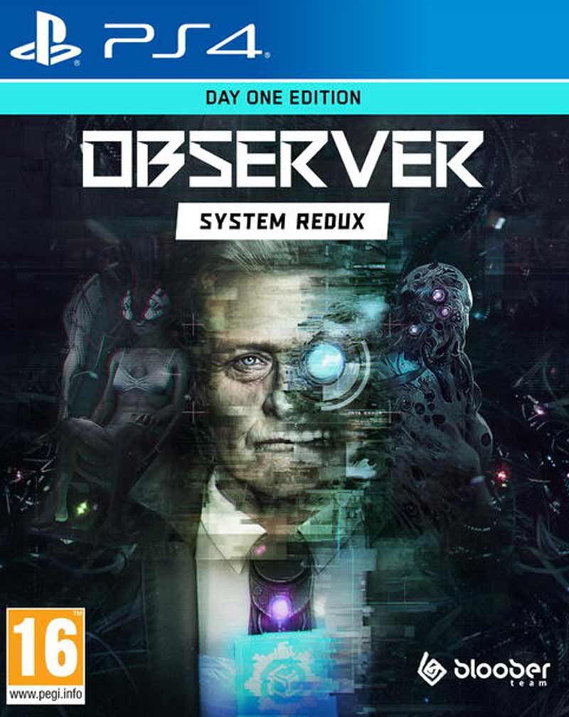 PS4 Observer - System Redux - Day One Edition