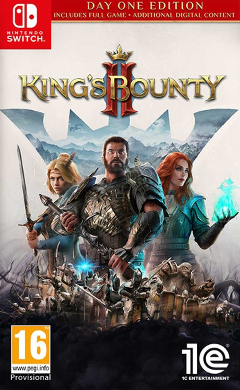 SWITCH Kings Bounty II - Day One Edition