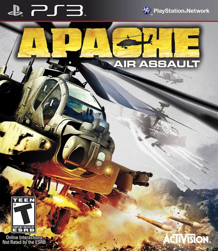 PS3 Apache Air Assault