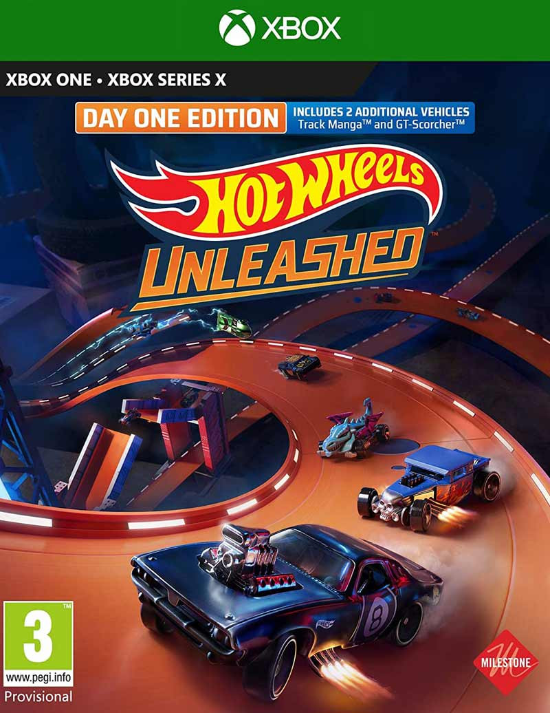 XBSX Hot Wheels Unleashed - Day One Edition