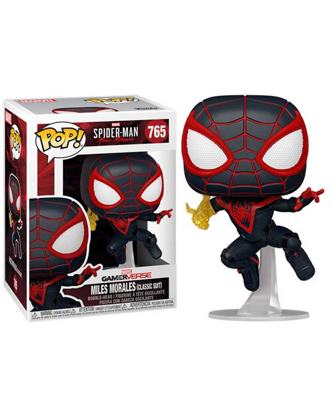 Figura POP! Spider-Man Miles Morales - Miles Morales Classic Suit with Chase