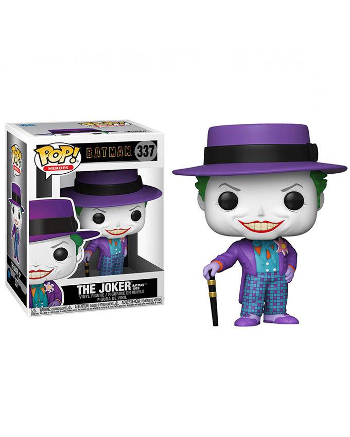 Figura POP! Batman 1989 - Joker with Hat with Chase