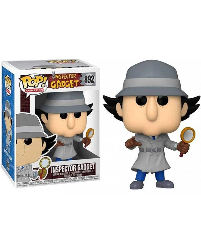 Figura POP! Inspector Gadget - Inspector Gadget with Chase