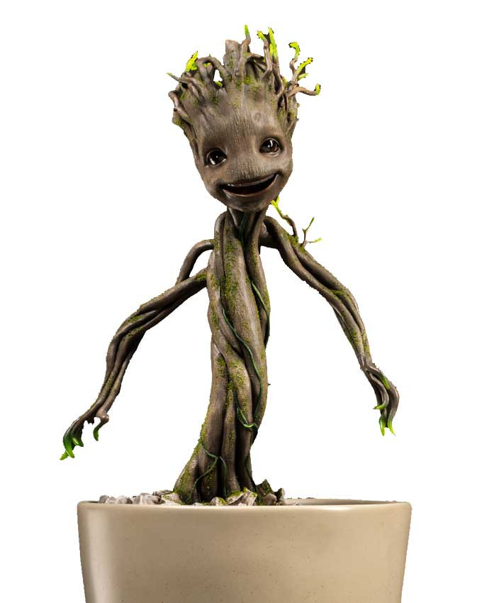 Figura Guardians of the Galaxy - Dancing Groot 1:1 Maquette