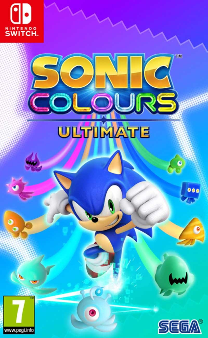 SWITCH Sonic Colors Ultimate - Launch Edition