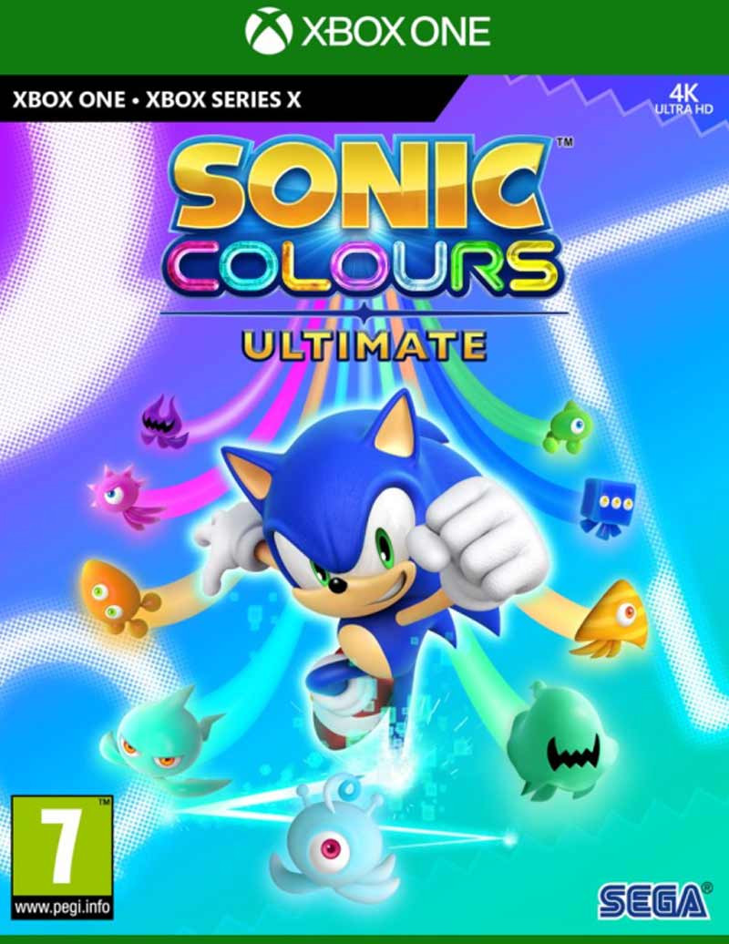 XBOX ONE Sonic Colors Ultimate - Launch Edition