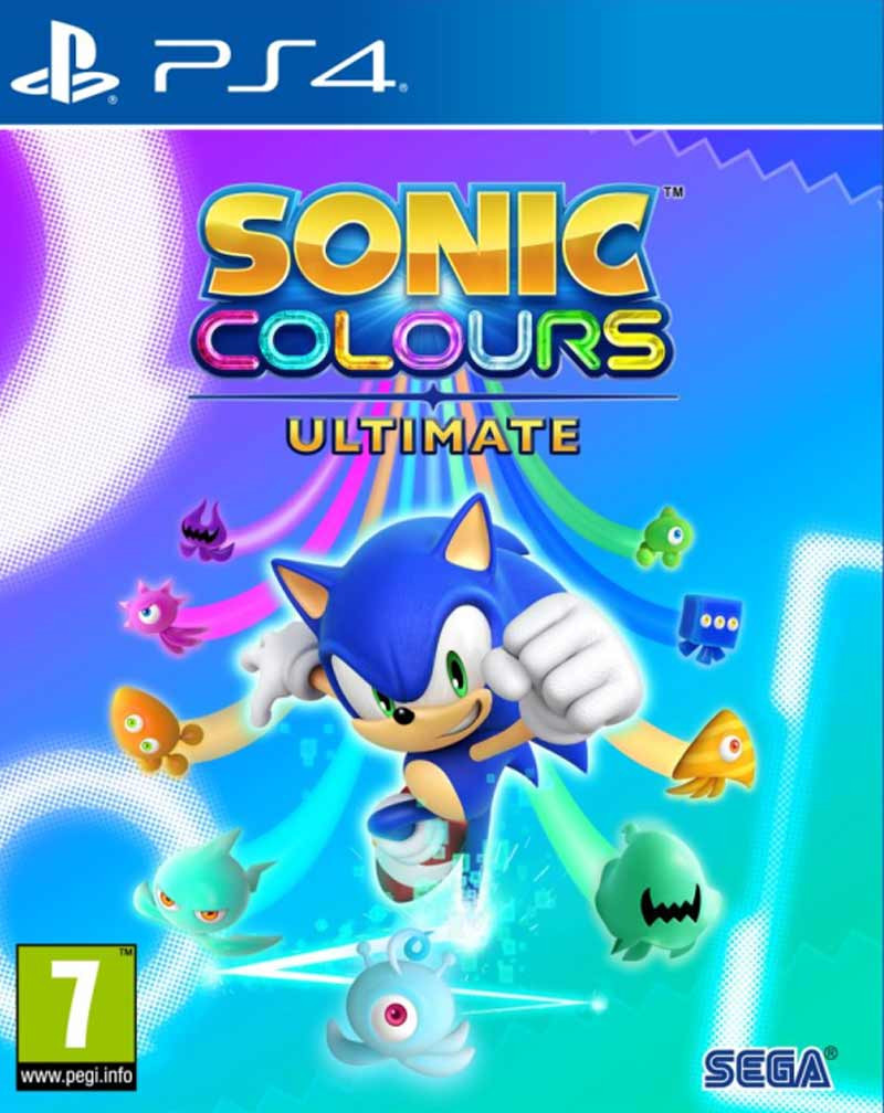 PS4 Sonic Colours Ultimate - Launch Edition
