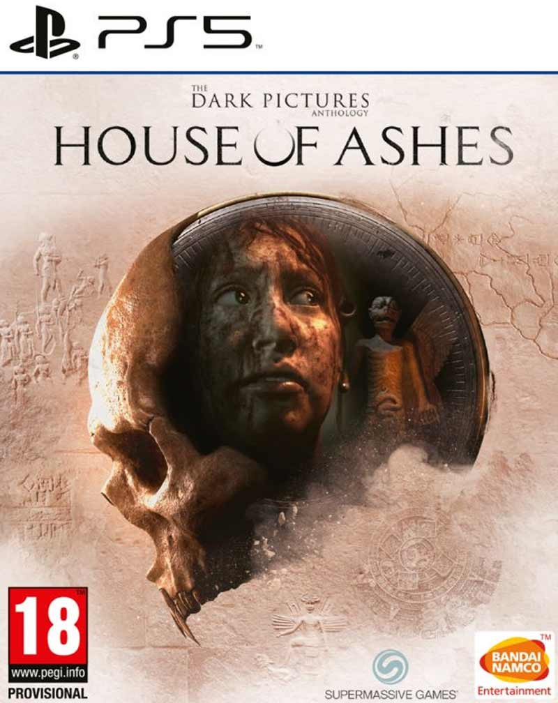 PS4 The Dark Pictures Anthology - House of Ashes
