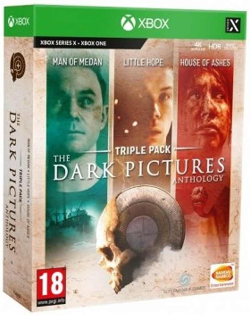 XBOX ONE The Dark Pictures Anthology - Triple Pack