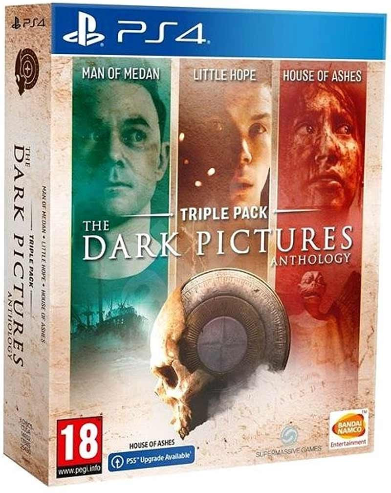 PS4 The Dark Pictures Anthology - Triple Pack