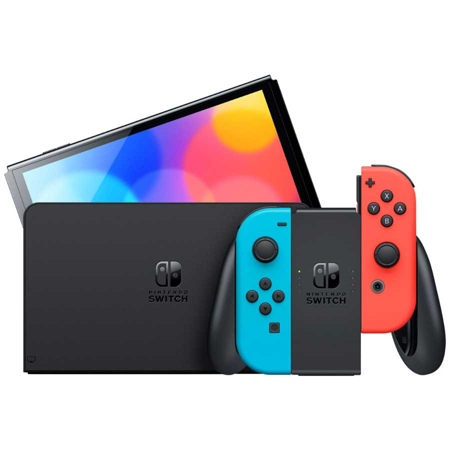 Konzola Nintendo Switch OLED Model Neon Red and Blue