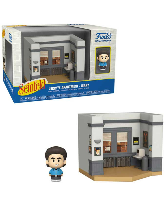 Figura POP! Seinfeld - Vinyl Mini Moments - Jerry with Chase
