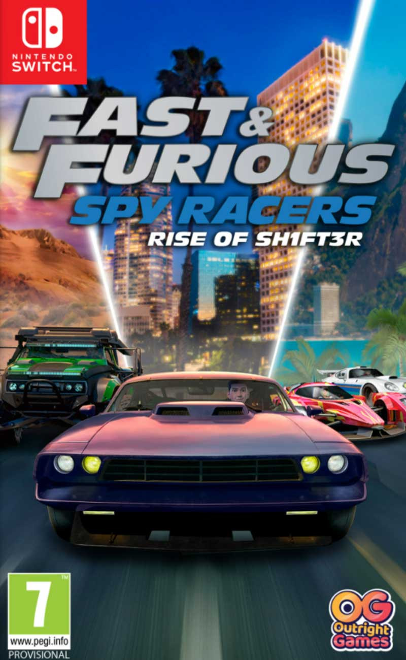 SWITCH Fast and Furious Spy Racers - Rise of SH1FT3R