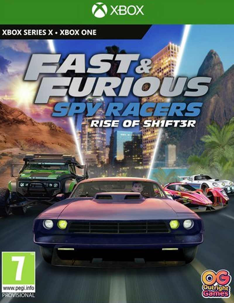 XBOX ONE Fast and Furious Spy Racers - Rise of SH1FT3R