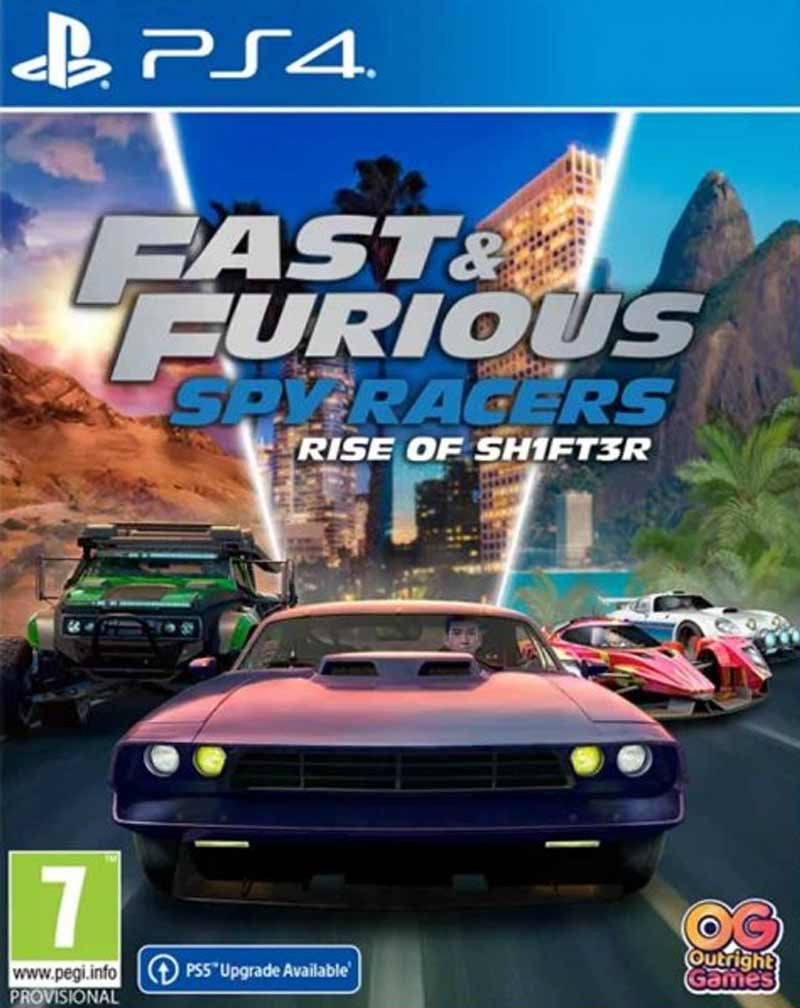 PS4 Fast and Furious Spy Racers - Rise of SH1FT3R