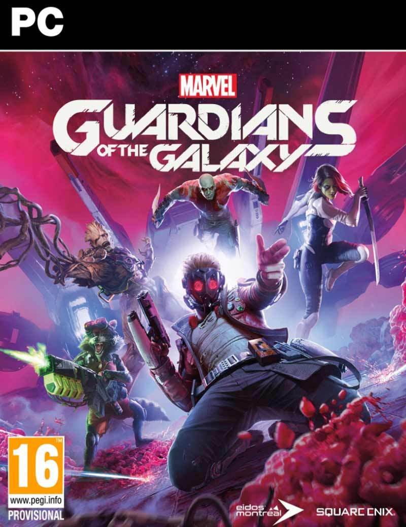 PCG Marvels Guardians of the Galaxy