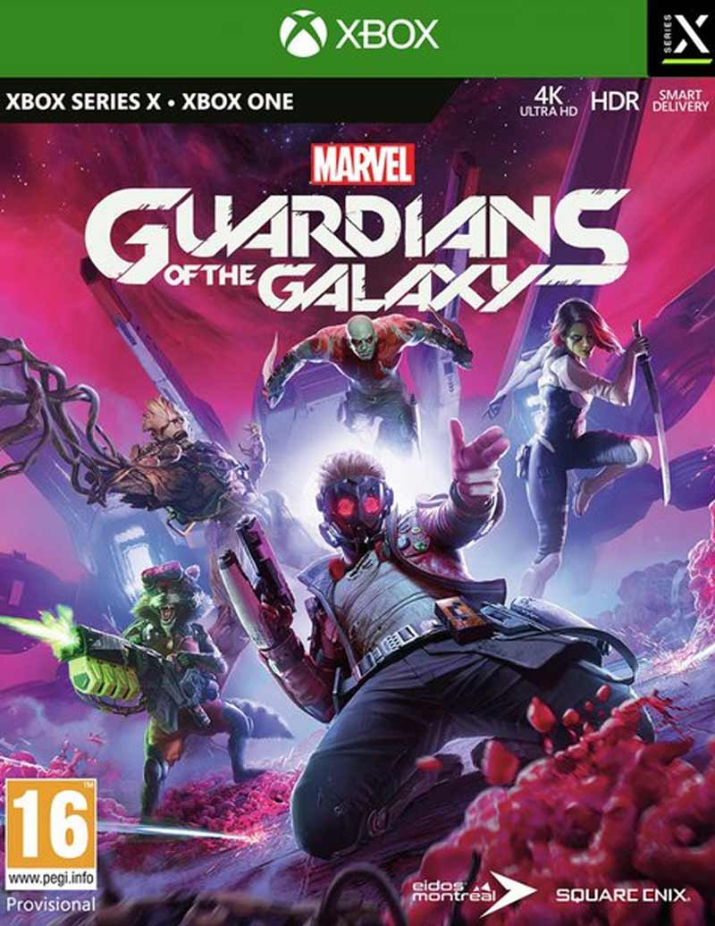 XBOX ONE Marvels Guardians of the Galaxy