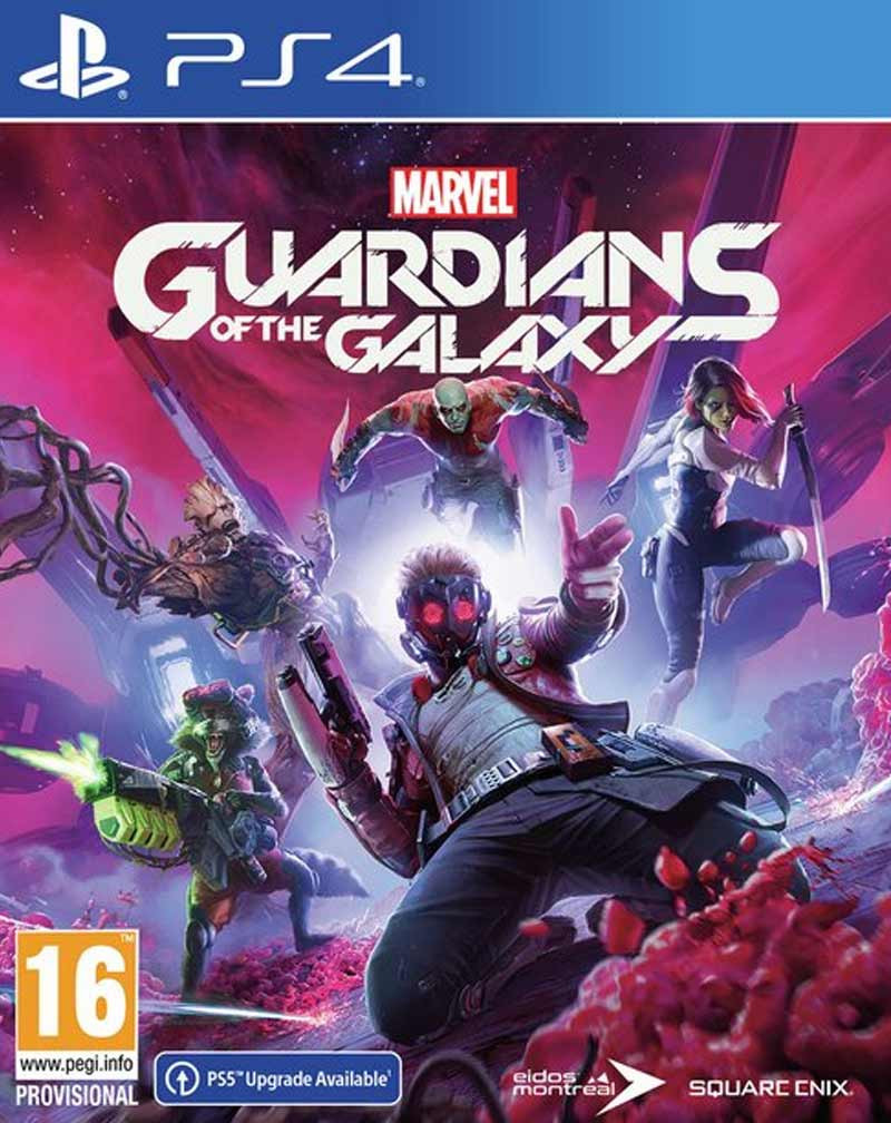 PS4 Marvels Guardians of the Galaxy