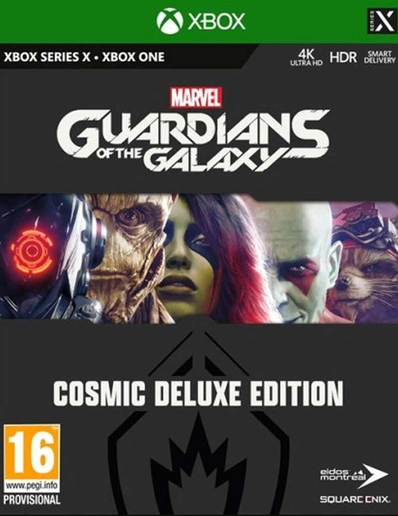 XBOX ONE Marvels Guardians of the Galaxy - Cosmic Deluxe Edition