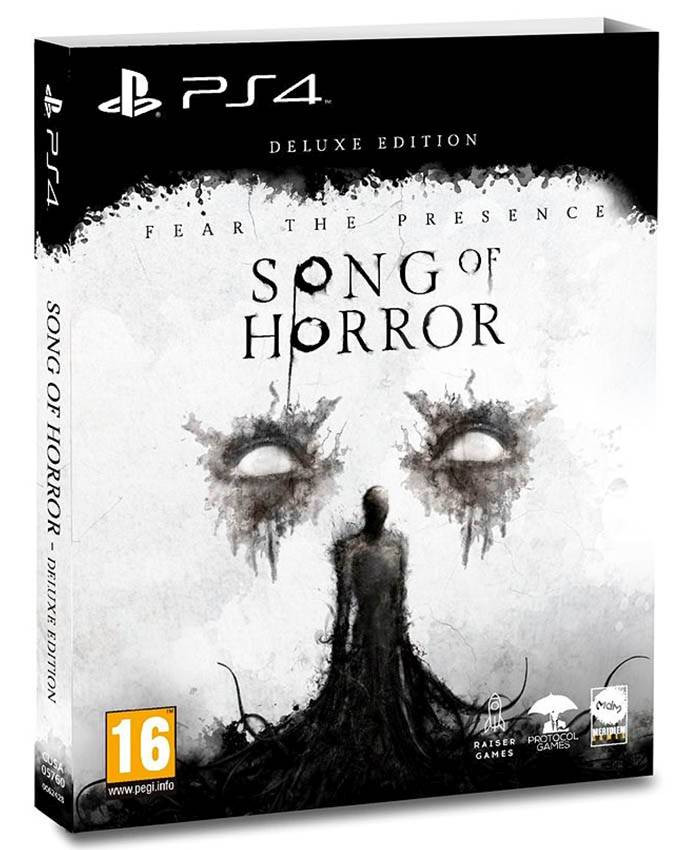 PS4 Song of Horror - Deluxe Edition
