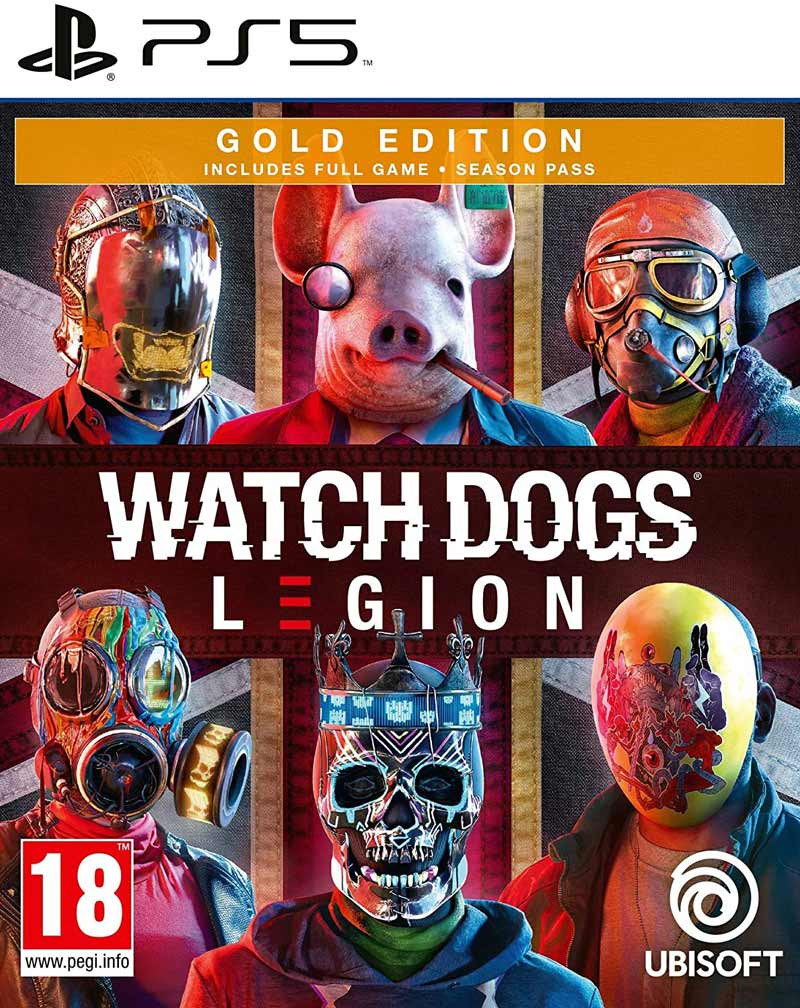 PS5 Watch Dogs Legion - Gold Edition