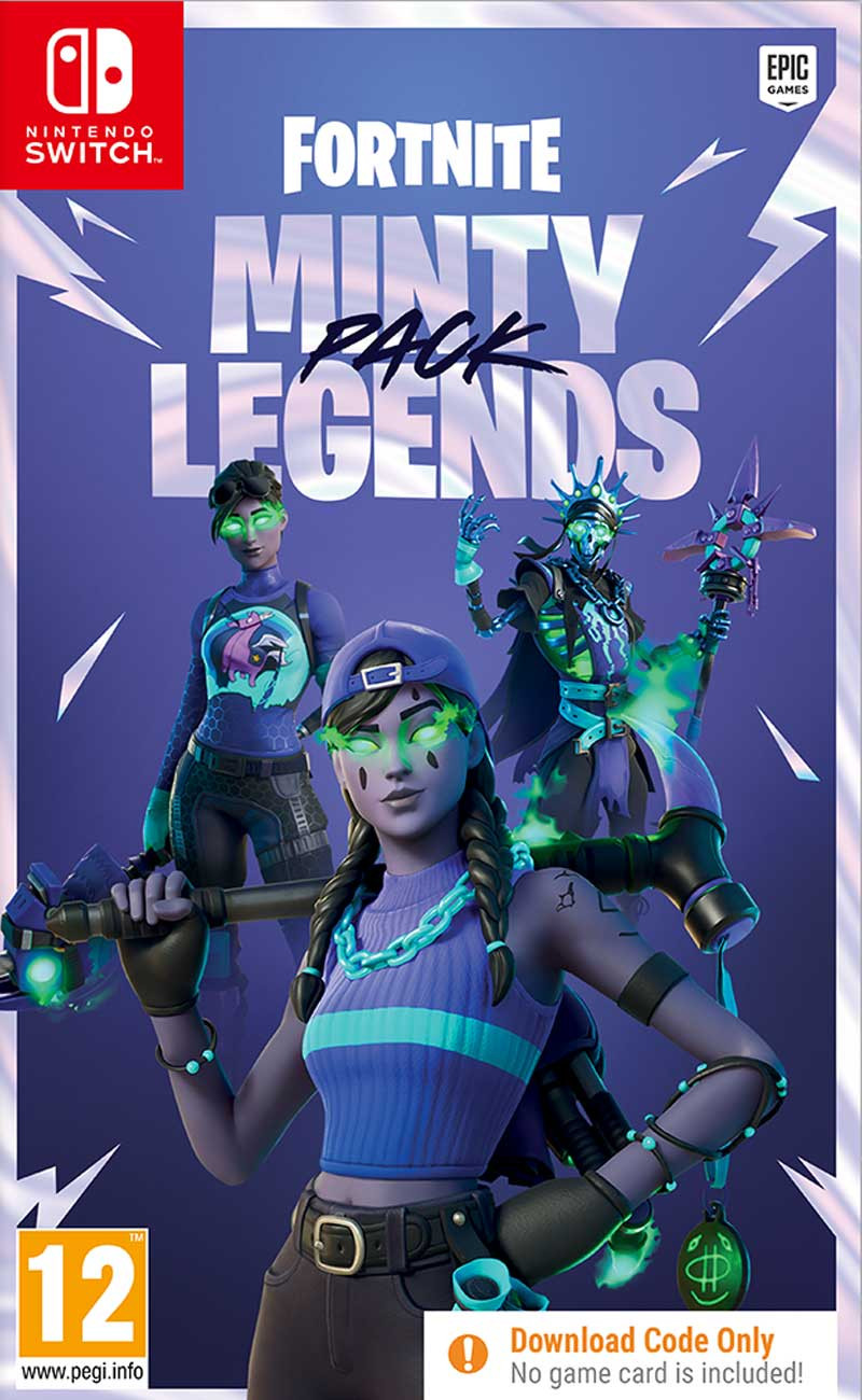 SWITCH Fortnite - Minty Legends Pack