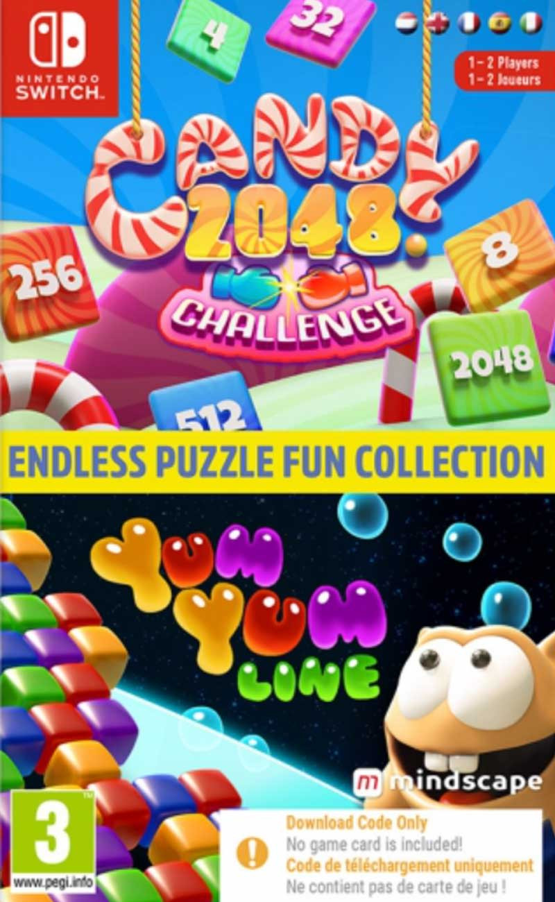 SWITCH Endless Puzzle Fun Collection (code in a box)
