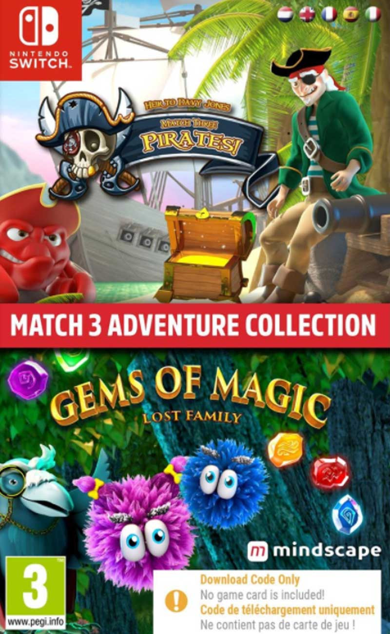 SWITCH Match 3 Adventure Collection (code in a box)
