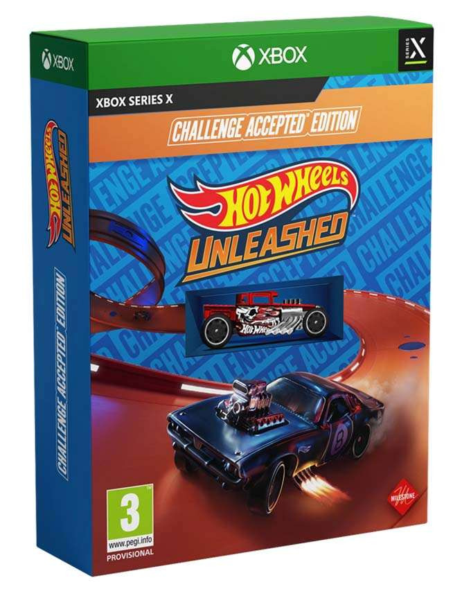 XBSX Hot Wheels Unleashed - Challenge Accepted Edition