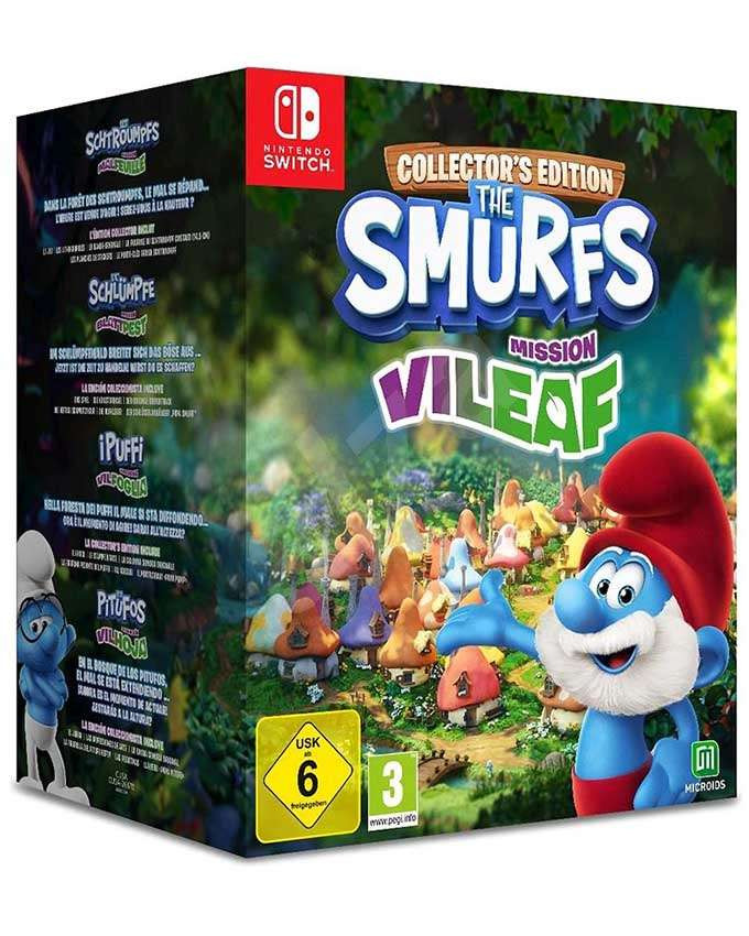 SWITCH The Smurfs - Mission Vileaf - Collectors Edition