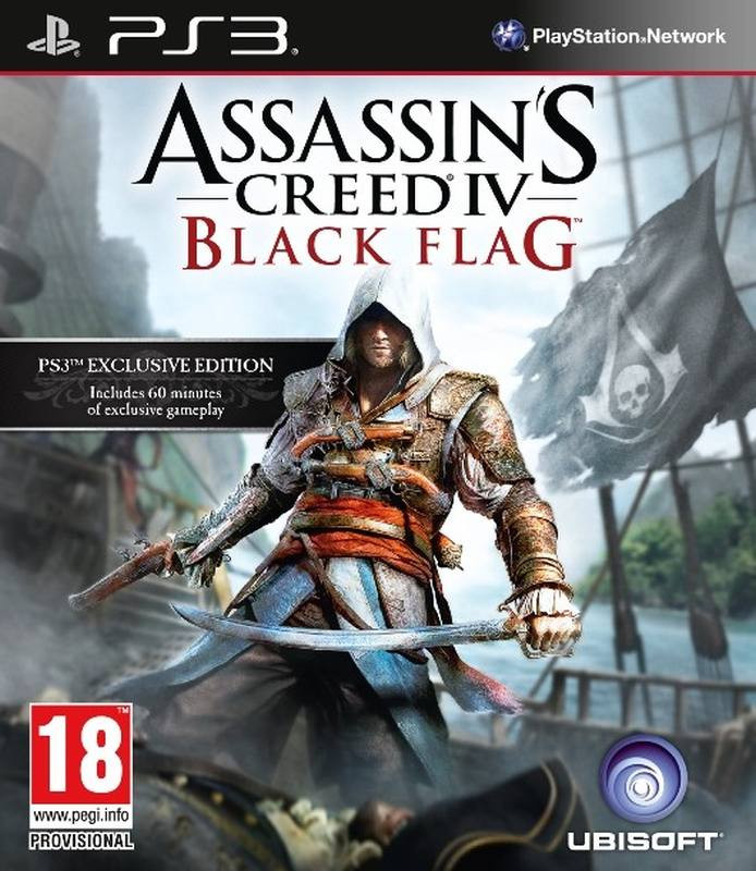 PS3 Assassins Creed 4 - Black Flag