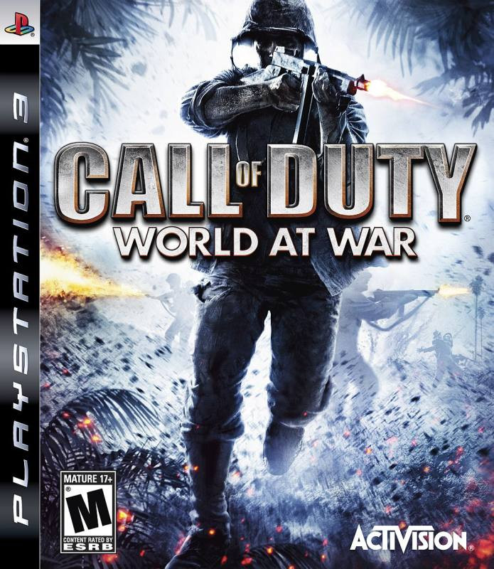 PS3 Call of Duty - World at War