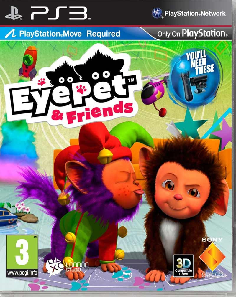 PS3 EyePet and Friends MOVE