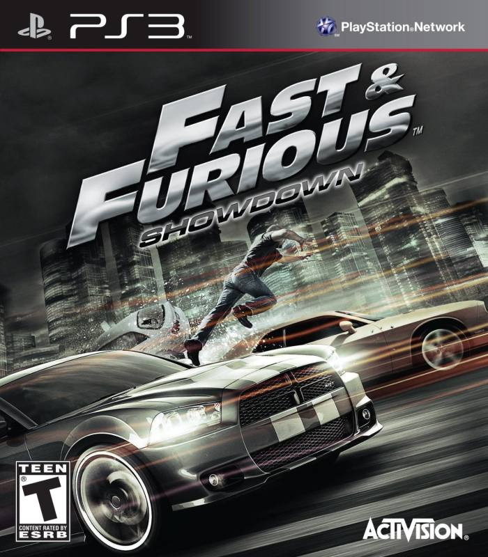 PS3 Fast and Furious Showdown
