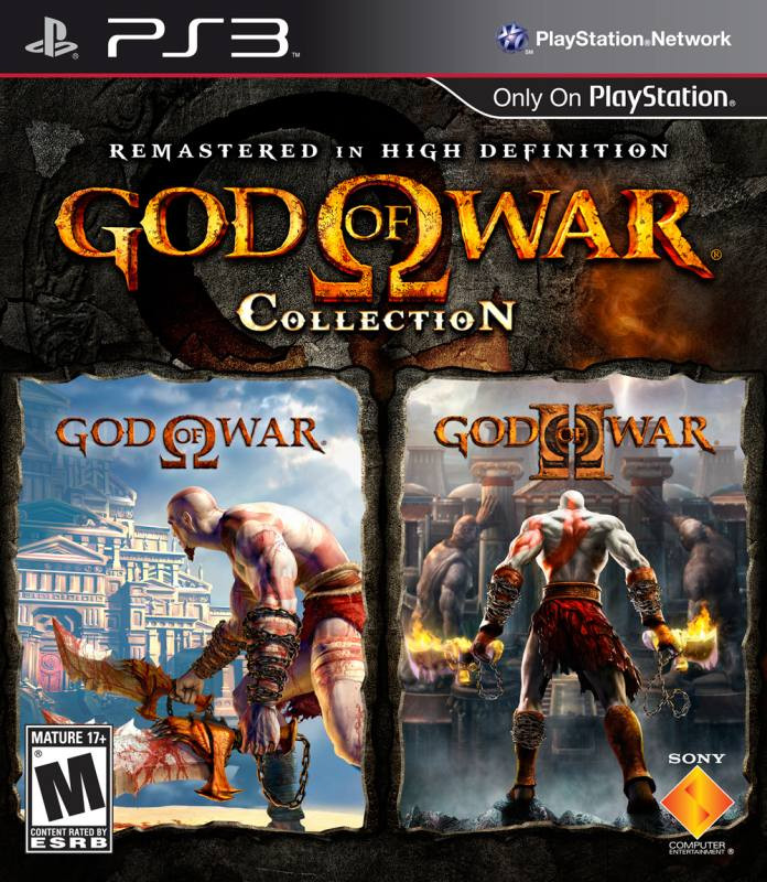 PS3 God Of War Collection (GOW1 i GOW2)