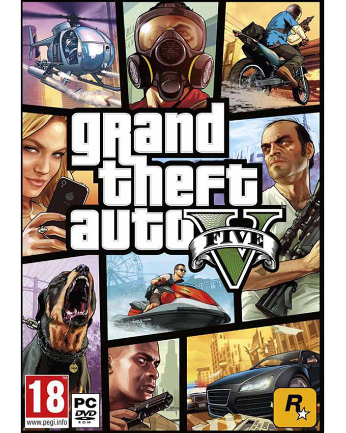 PCG Grand Theft Auto V (GTA 5 )