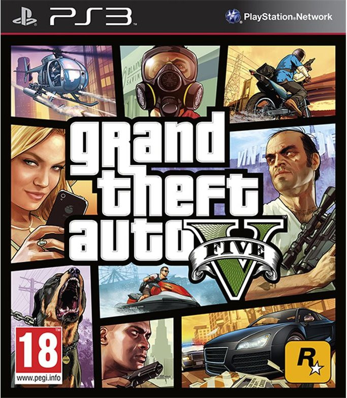 PS3 GTA 5 - Grand Theft Auto V