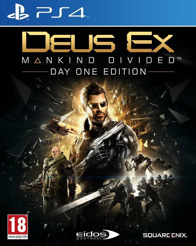 PS4 Deus Ex Mankind Divided Day One