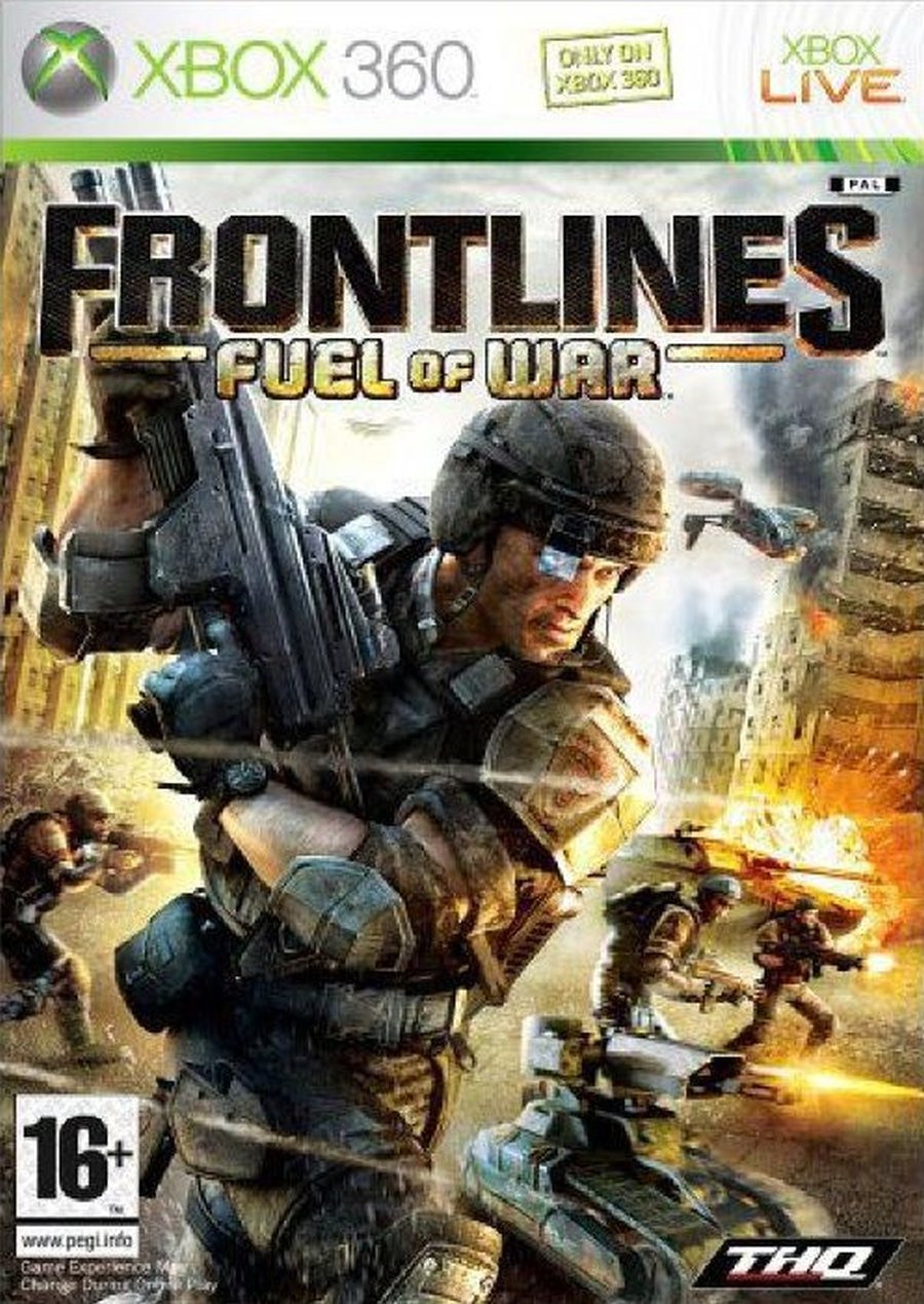 XBOX 360 Frontlines Fuel of War