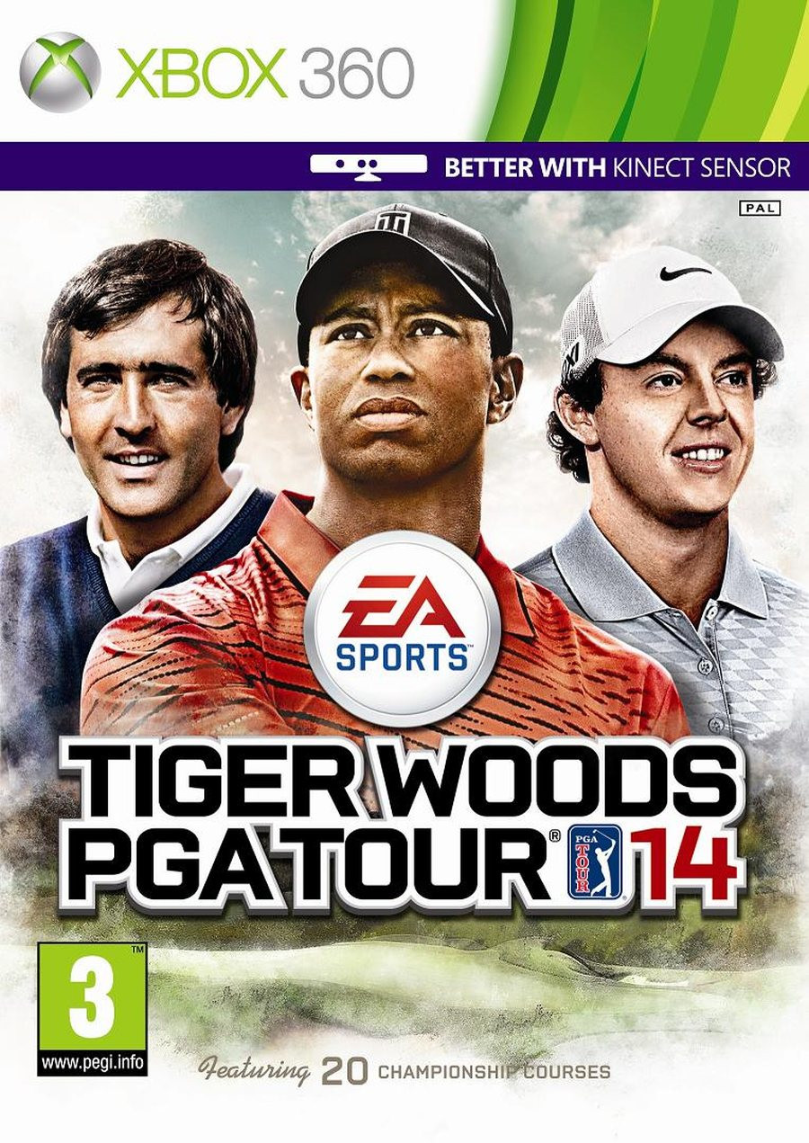 XBOX 360 Tiger Woods PGA Tour 14